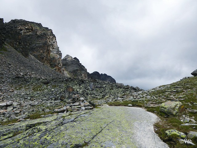 wandeling naar de Düsseldorfhütte