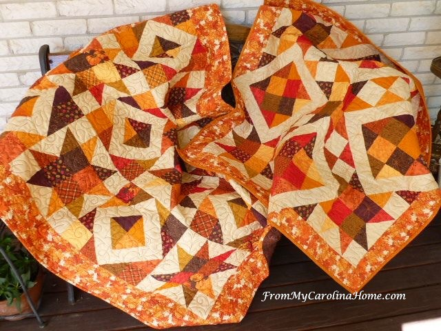 Stars on Autumn Lane Quilt Along for Autumn Jubilee ~ From My Carolina Home