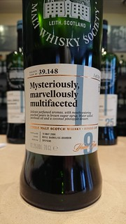 SMWS 39.148 - Mysteriously, marvellously multifaceted