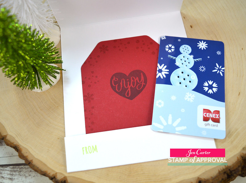 Jen Carter CP Good Stuff Inside Gift Card Poinsettia Inside 2wm
