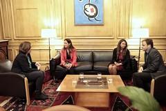 dc., 18/10/2017 - 08:51 - Reunió de l'alcaldessa de Barcelona, Ada Colau amb la degana del Col·legi de l'Advocacia de Barcelona, Mª Eugènia Gay