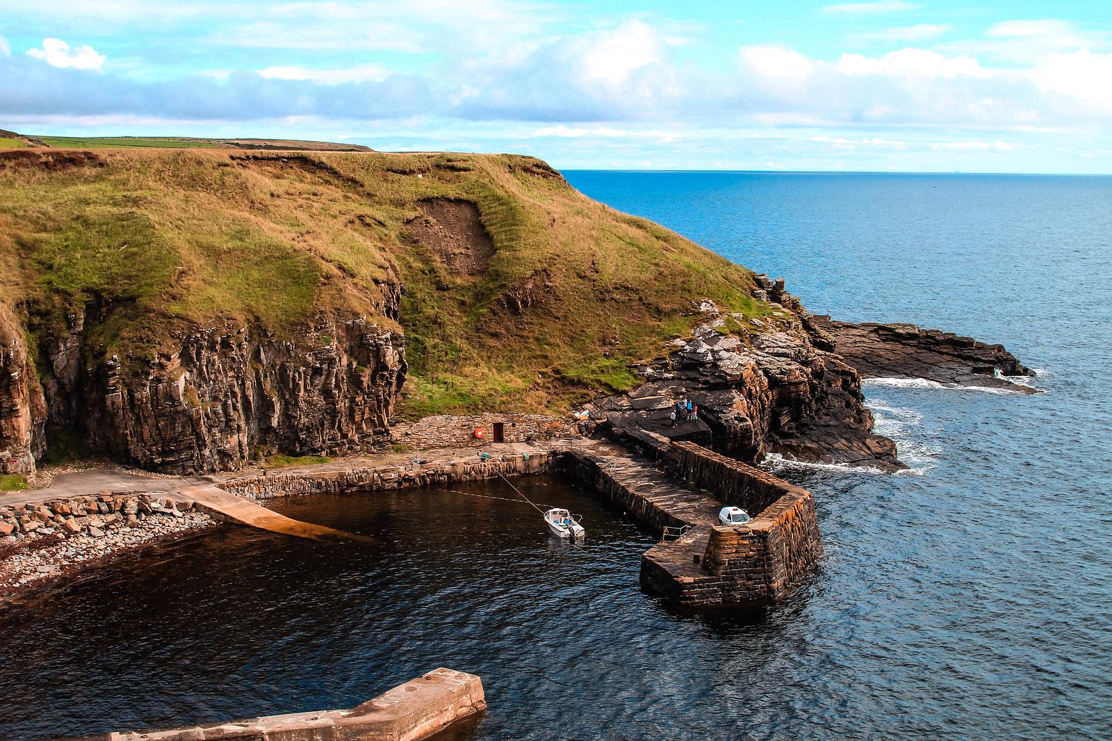 Whaligoe Steps Scotland NC500 travel blogger UK