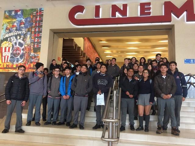 Visita al cine - Convivencia Escolar