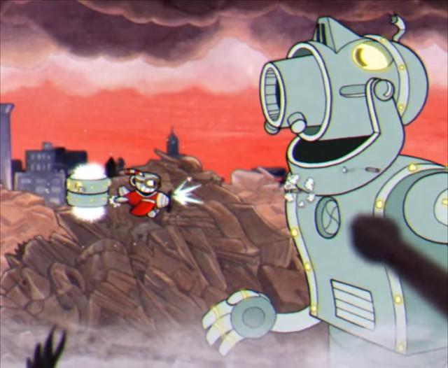 Cuphead - Dr Kahl's Robot