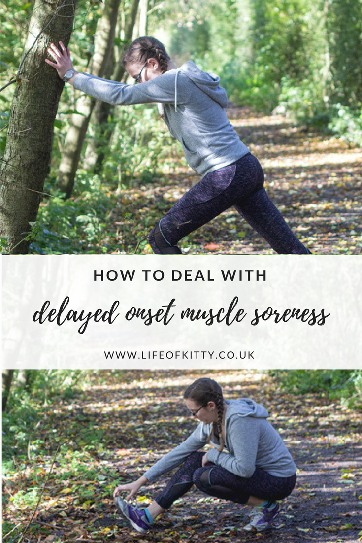 How To Deal With DOMS (Or Delayed Onset Muscle Soreness) // Life of Kitty
