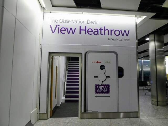 Heathrow Terminal 4 Observation Deck