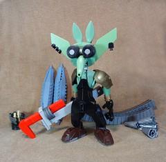 Sean Greasysprocket the Space Goblin