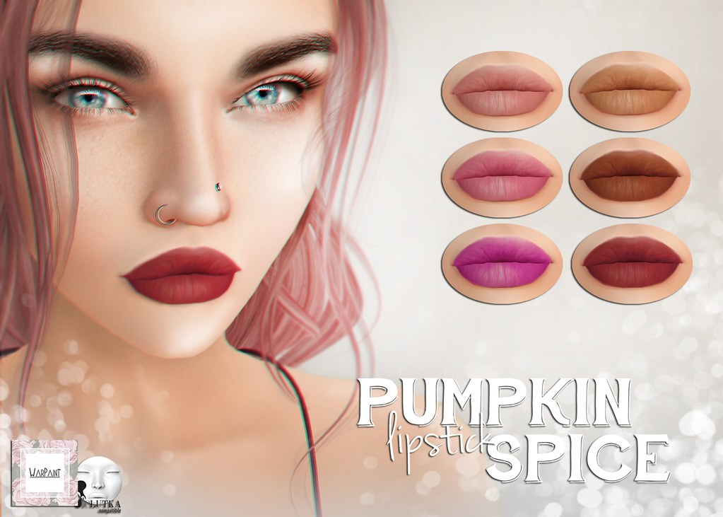 WarPaint* @ The Trunk Show – Pumpkin spice lipstick