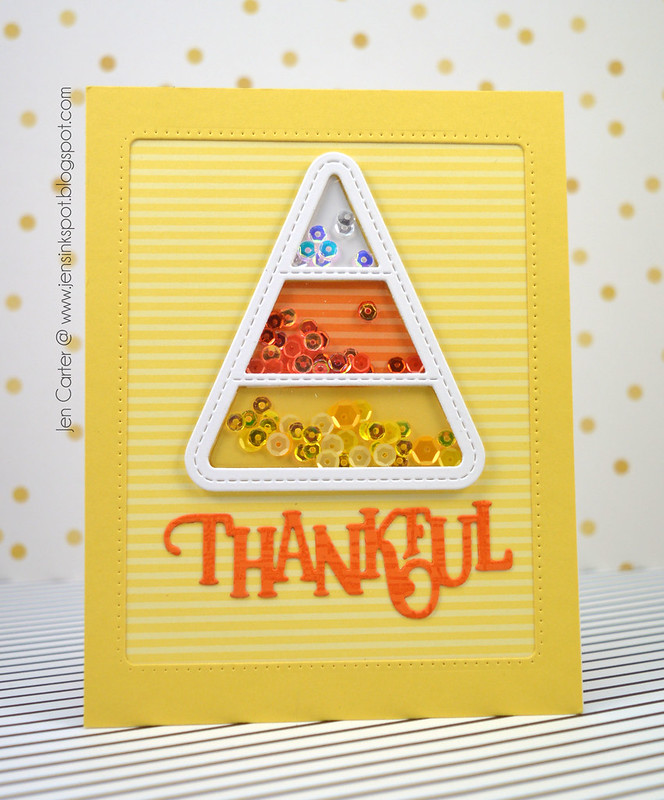 Jen Carter Thankful Candy Corn Shaker 2