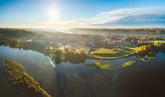 Kaunas autumn panorama | Aerial