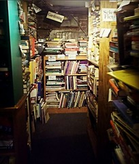 Look my favorite bookstore has a creepy basement...