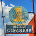 Westside Cleaners sign - South Jackson, Tennessee
