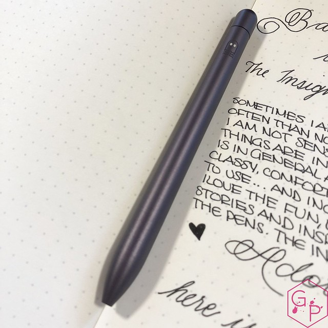 Review @BaronFig Limited Edition Squire The Insightful Spectre Rollerball Pen 2