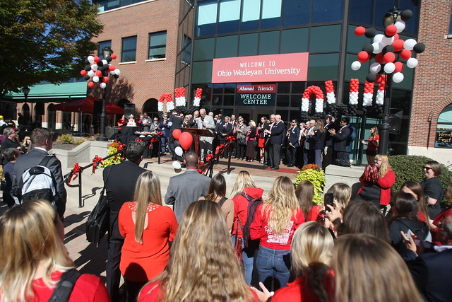 175th OWU Birthday Party on the JAYwalk