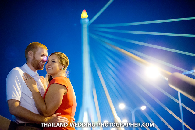 Thailand Bangkok Rama VIII Bridge Wedding Photography