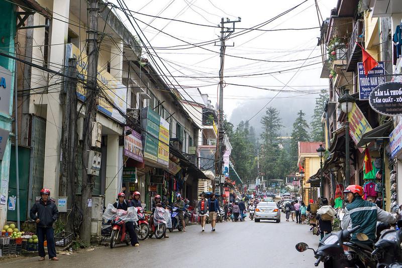 Sapa, Vietnam - town