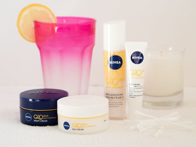 The NIVEA Q10 anti-ageing, anti-wrinkle product range