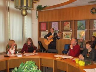 Літературно-музична зустріч «Поезія. Дві грані».27.10.17. Дружби народів