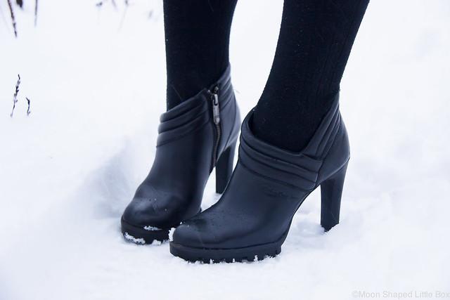 Calvin Klein Nahkanilkkurit talvikengät