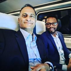 On Amtrak to NYC for #smarthustle conference @ramonraysmallbiztech