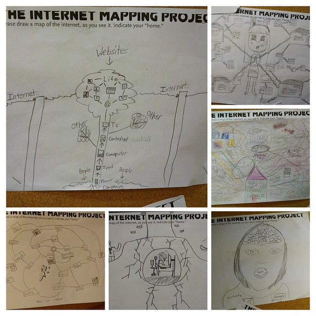 Internet Mapping Students