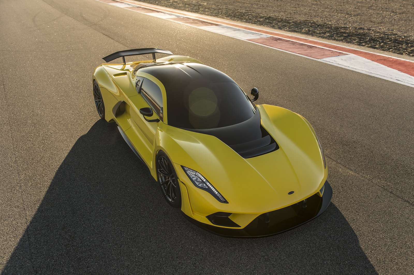 Hennessey Venom F5 makes its debut at SEMA