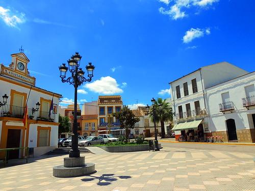 <Plaza Constitución> El Saucejo (Sevilla)