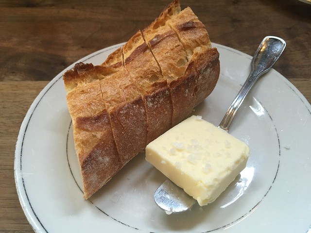 Bread and salted butter - Le Pigeon