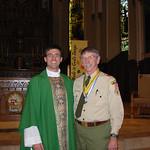 mr. robert buholtz st. george recipient and fr bryan stitt