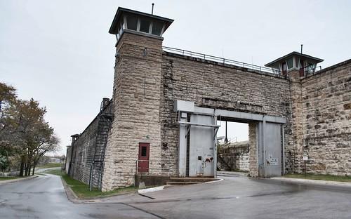 Entrance/Exit Gate, USDB, Fort Leavenworth, Kansas USA