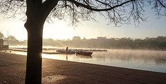 The Serpentine from this morning's commute