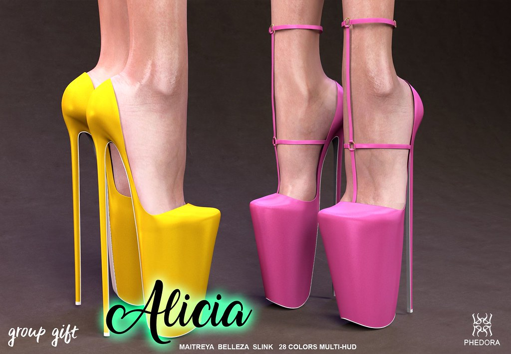 "Phedora Group gift- ""Alicia"" multistyle pumps! - TeleportHub.com Live!"
