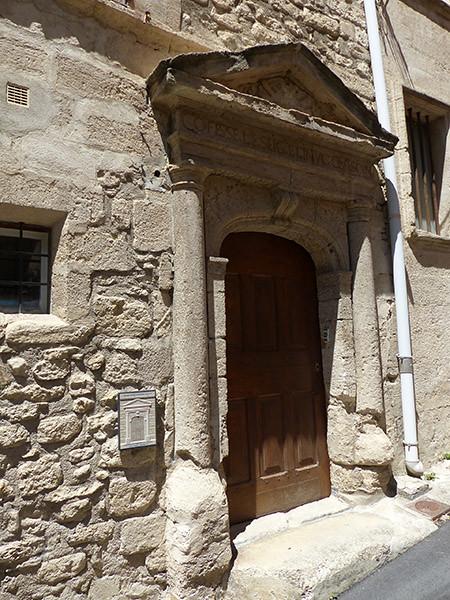 l'ancien temple protestant