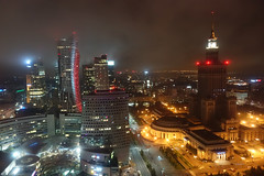 Night View from Marriott Skybar