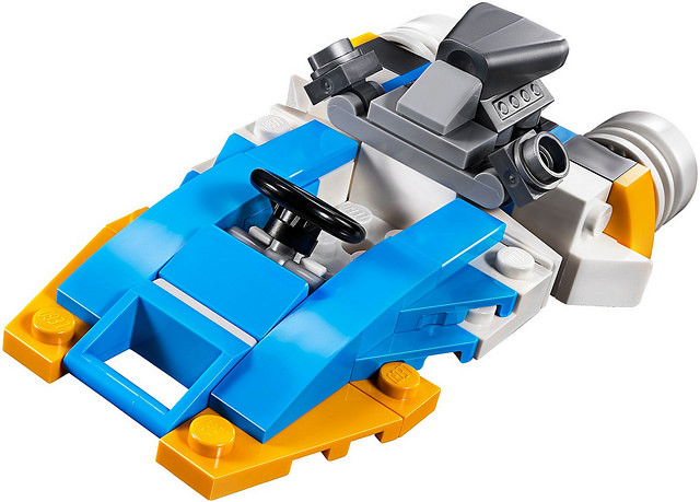 享受不斷拆裝、又能變形的組合樂趣吧~ LEGO 31071、31072、31075、31076、31081 創意系列 2018年上半部分盒組 Part 1!!