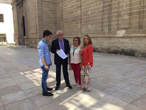 El PP de Dos Hermanas en el Parlamento de Andalucía