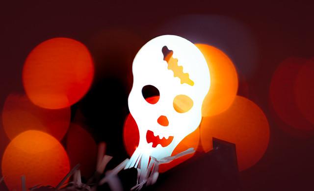 Halloween  special - Bokeh Monster