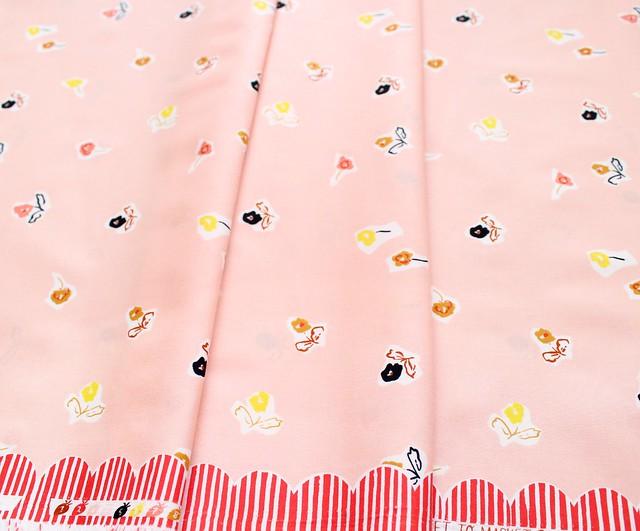 Cloud9 Fabrics To Market, To Market Sidewalk Flowers Pink