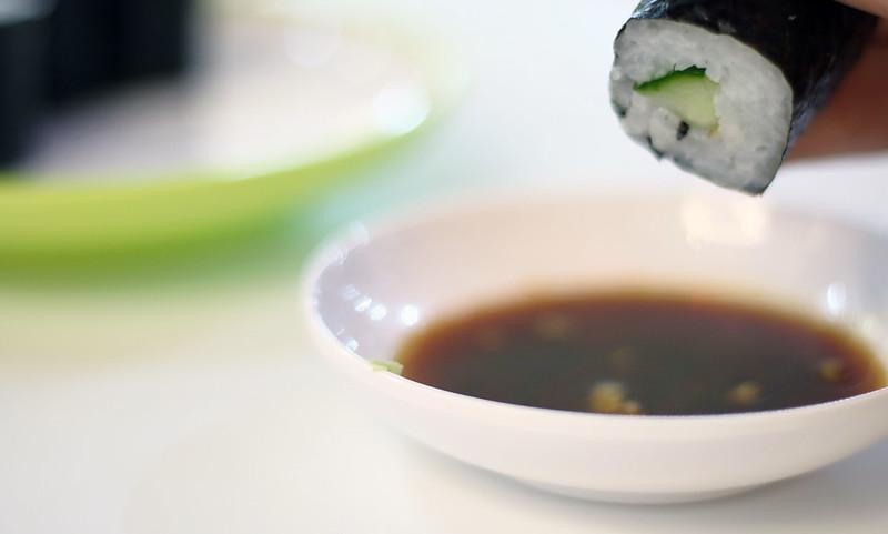 YO Sushi Cucumber