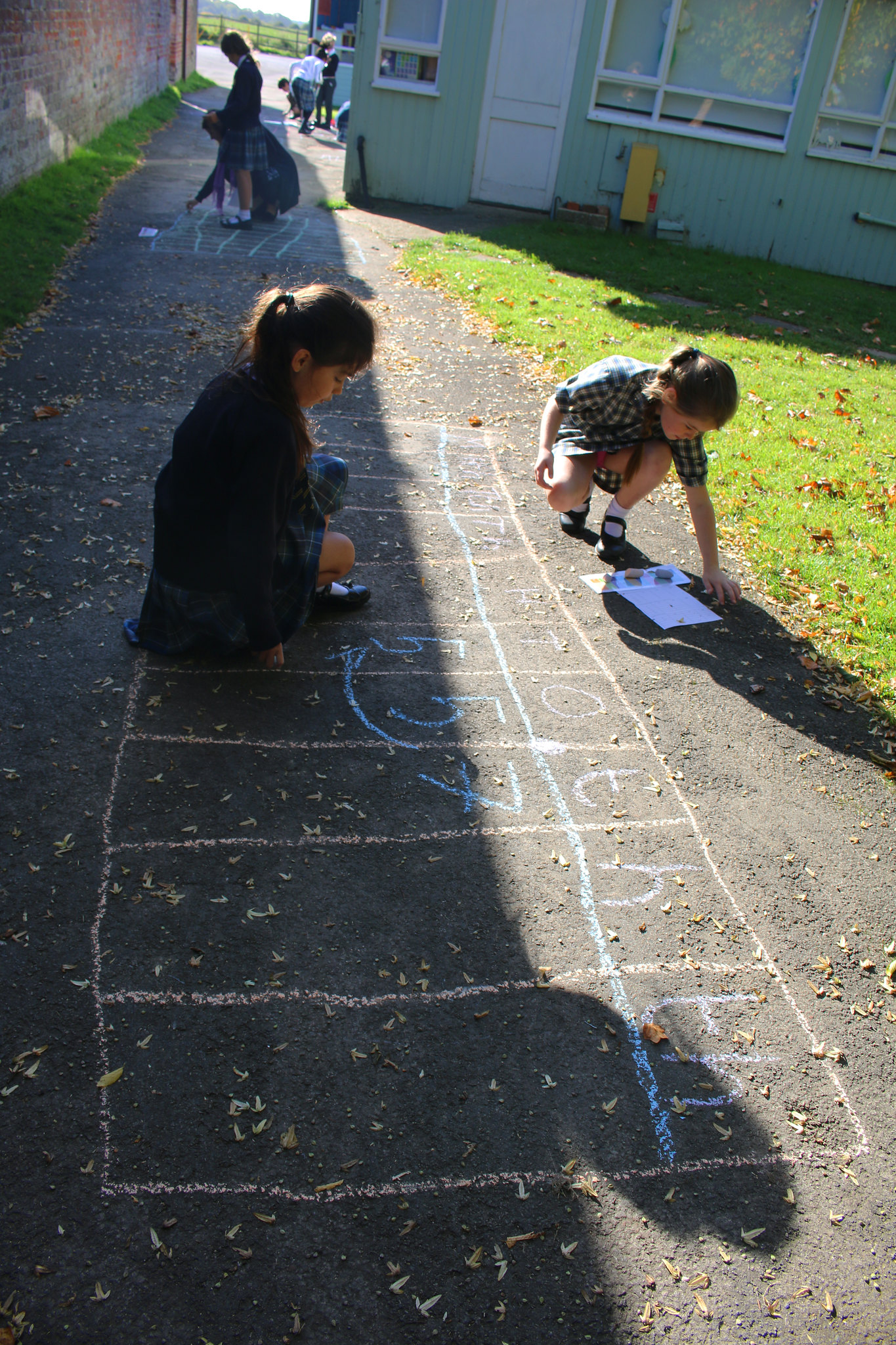 Year 5's Chalk Maths