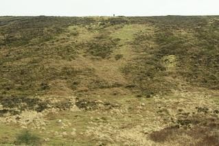 20170329-40_Distant Lone Walker on Jugger Howe Moor
