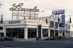 Auto showroom, circa 1970s