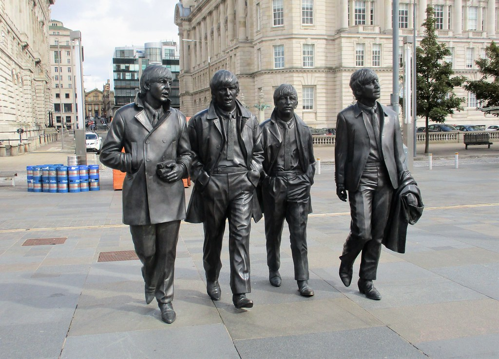 Beatles Statue, Liverpool Waterfront