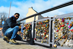 Love locks helsinki