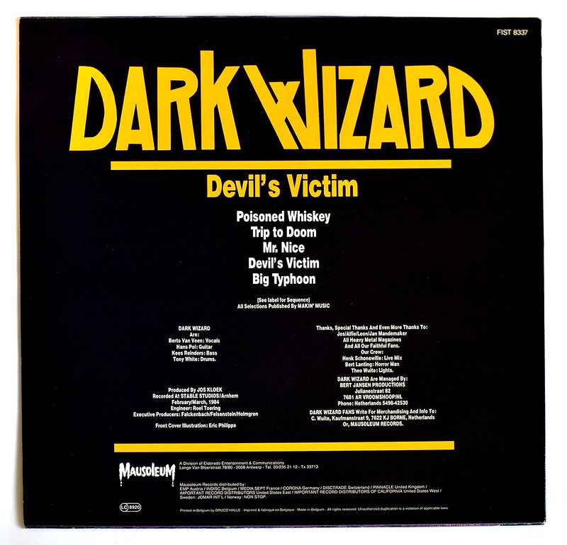A0364 Dark Wizard Devil's Victim