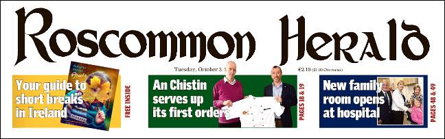 Roscommon Herald Masthead