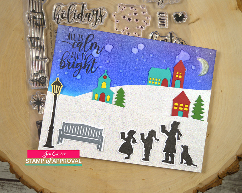 Jen Carter CP Caroling Calm Bright 1wm