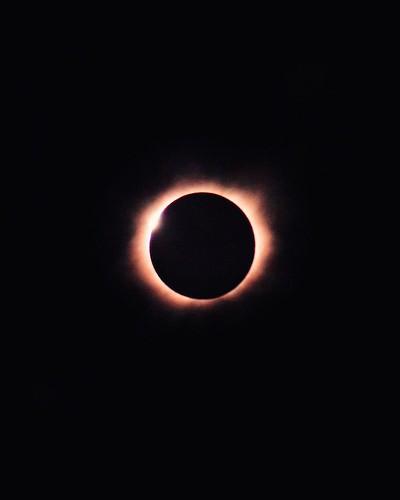 Solar Eclipse. Tellico Plains, TN. Photographer Dan Price