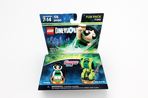 LEGO Dimensions The Powerpuff Girls Buttercup Fun Pack (71343)