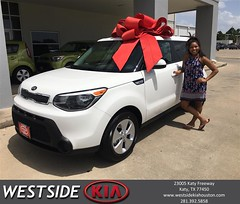 #HappyBirthday to Alexus from Bobby Russell at Westside Kia!